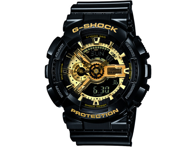 CASIO G-SHOCK GA-110GB-1AER Watch Men black/black/gold
